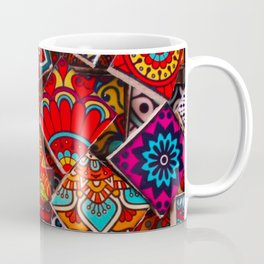 V1 Traditional Moroccan Colored Stones. Coffee Mug