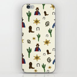 The Cowboy Way iPhone Skin
