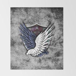 Wings of Freedom Throw Blanket