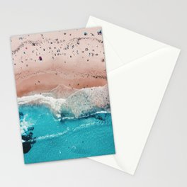 Beach Day (Beach Please Poster No Text) Stationery Cards