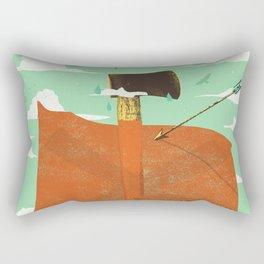 AXE MARKS THE SPOT Rectangular Pillow