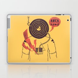 The Vinyl Frontier (alternate) Laptop & iPad Skin