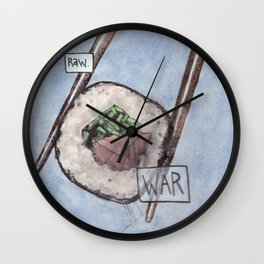 War / Raw Wall Clock