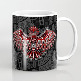 Eagle Tattoo Style Haida Art Coffee Mug