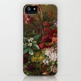 Vintage Botanical No. 2 iPhone Case