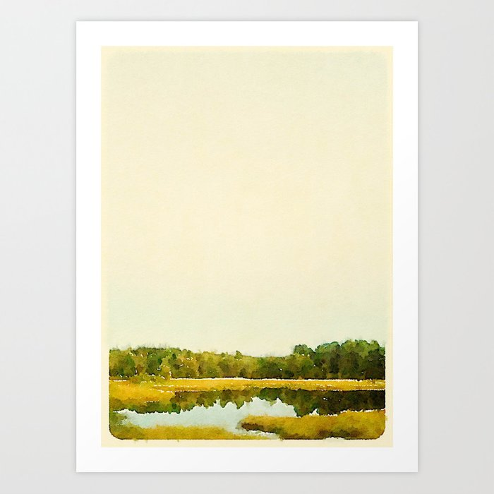 Fall In Portland, ME Art Print
