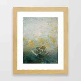 Kneeling Framed Art Print