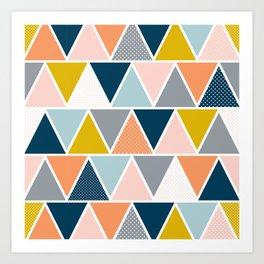 Triangulum Retreat Art Print