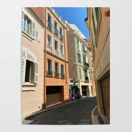 Monaco  Monte Carlo Cityscape Poster