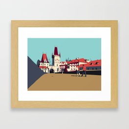 Charles Bridge Framed Art Print