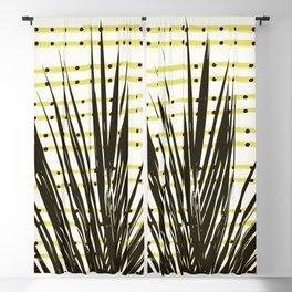 Line dot plant Blackout Curtain