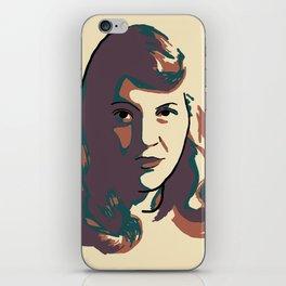 Sylvia Plath iPhone Skin