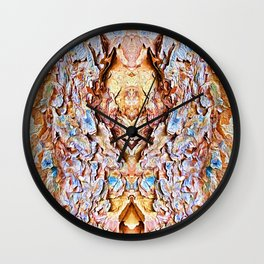 Angels of the Paper Bark Maple Tree Wall Clock