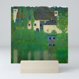 """Gustav Klimt """"Schloss Kammer on the Attersee"""" I. Mini Art Print"""