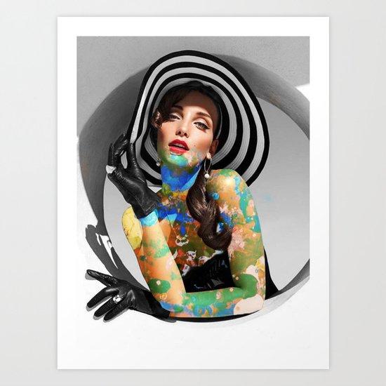 Escape The Colors Art Print