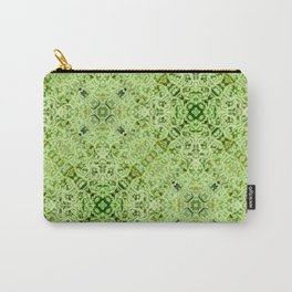 Green Mandala Carry-All Pouch