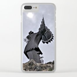 Keeper of the Plains Clear iPhone Case