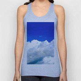 Clouds in a Clear Blue Sky Unisex Tank Top