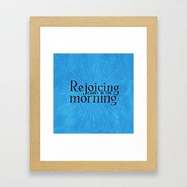 Psalm 30 Framed Art Print