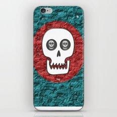 Skull Poppy iPhone & iPod Skin