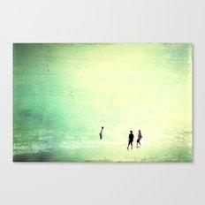Big Sea Canvas Print