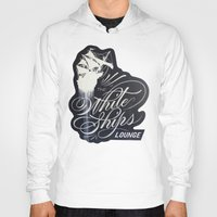 "ships Hoodies featuring ""The White Ships Lounge"" by XRAY"