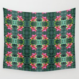 Pomegranates Growing Wall Tapestry