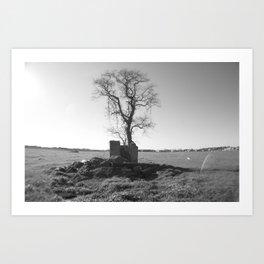 Tree of Stone Art Print