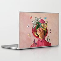 eugenia loli Laptop & iPad Skins featuring Chrysalis by Eugenia Loli