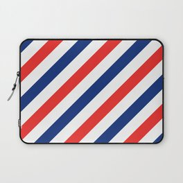Barber Stripes Laptop Sleeve