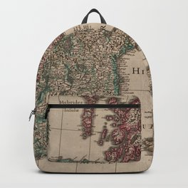 Vintage Map of The British Isles (1617) Backpack