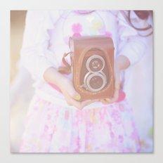 Little Photographer. Canvas Print