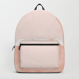 Peaches and cream marble Backpack