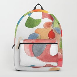 Life and Meaning 8| Abstract Watercolors Backpack