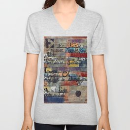 """Paul Klee """"(From the Song of Songs) Version II 1921"""" Unisex V-Neck"""