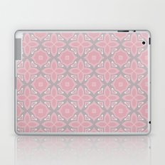 Fashionable pink and grey geometric pattern Laptop & iPad Skin