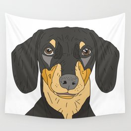 Dachshund Puppy Wall Tapestry