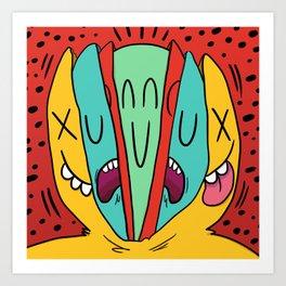CABEZA Art Print