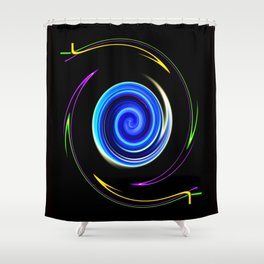 Abstract Perfection 11 Shower Curtain