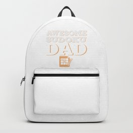 Awesome Sudoku Dad Backpack