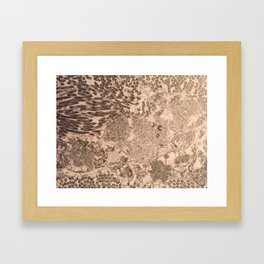 itchy series: no. 2 Framed Art Print