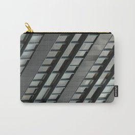 Diagonal Windows Carry-All Pouch