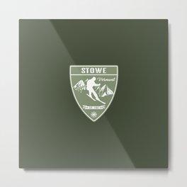 Stowe Vermont Metal Print