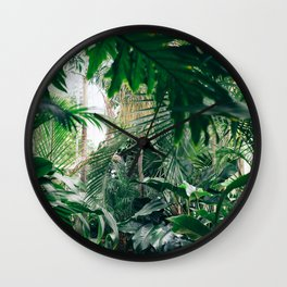 Amidst the Leaves Wall Clock