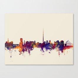 Dublin Ireland Skyline Canvas Print