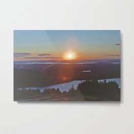 Sunset, Maine Metal Print