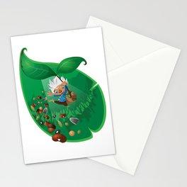 burno in spring Stationery Cards