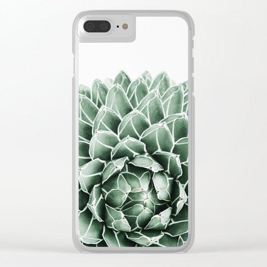 Succulent splendour Clear iPhone Case