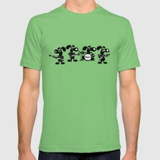 The Beagles Mens Fitted Tee Grass SMALL