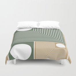 Stylish Geometric Abstract Duvet Cover